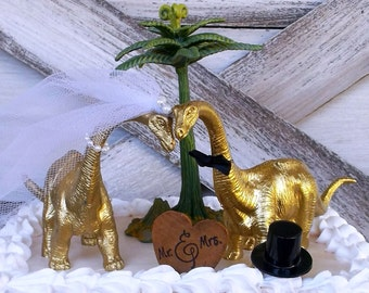 gold dinosaur wedding cake topper dinosaur wedding cake topper gold dinosaur by 14751