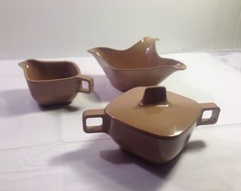 1950s Melamine Melmac  Tea Serving Set