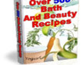504 Bath & Beauty Recipes PDF EBOOK