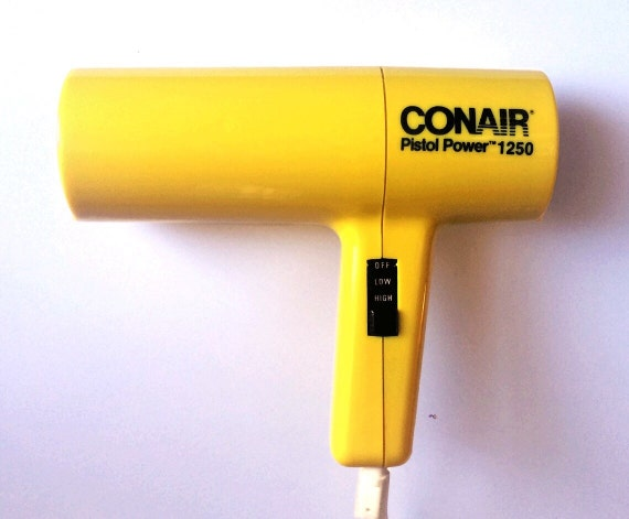 Vintage Conair Hair Dryer Pistol Power 1250 Works By FadedFare