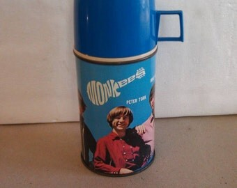 The Monkees  Metal Thermos  1967