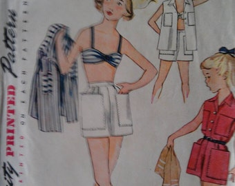 Simplicity Pattern No. 3906 Size 10 Girl