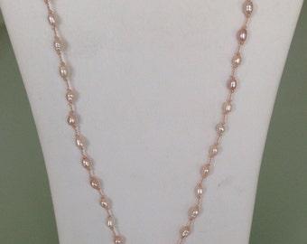 Green gemstone necklace