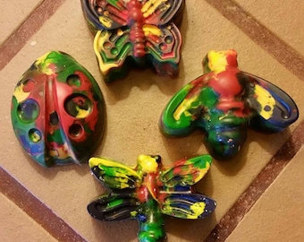Handmade Non-Toxic Eco-Friendly Recycled Crayons