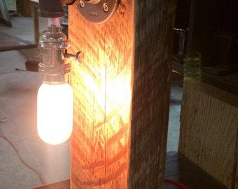 Reclaimed Lamp