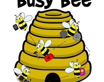 Busy Bee - Original Beginning Piano Solo