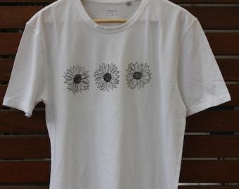Painted Sunflower T-shirt