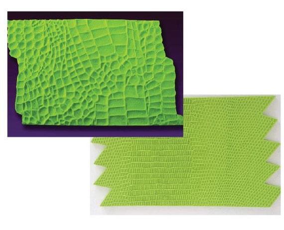Alligator Crocodile Or Lizard Snake Skin By Cakesuppliesplus