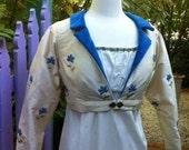 Regency Jane Austen Empire Spencer Jacket