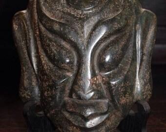 Rare JADE Carved mask