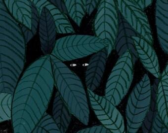 Digital print - Hide and seek
