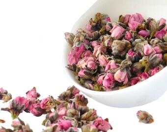 Peach Flower Tea - Decaffeinated - Chinese Tea - Herbal Tea - Flower Tea - Tea - Loose Tea - Loose Leaf Tea - FREE Shipping