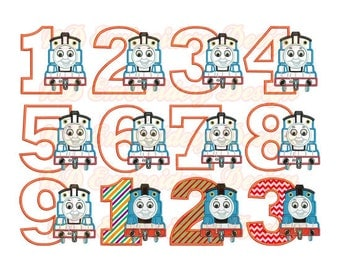 Snap Thomas The Train Embroidery Design Etsy Photos On Pinterest