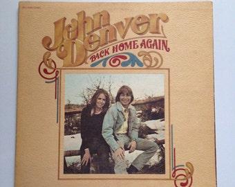 VINTAGE** John Denver- Back Home Again LP 1974