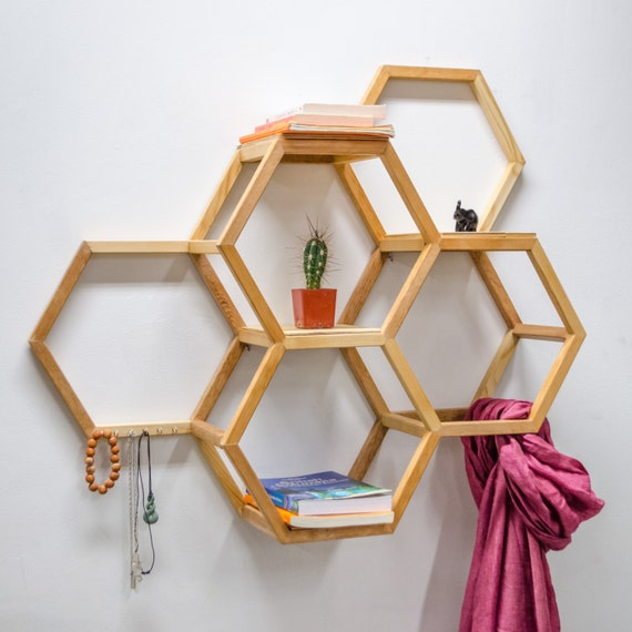 honeycomb shelf. Black Bedroom Furniture Sets. Home Design Ideas