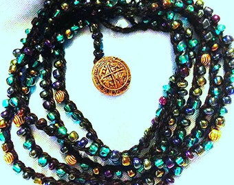 "49"" Ocean Floor Treasures Wrap Bracelet ** Cinco Wrap Bracelet"