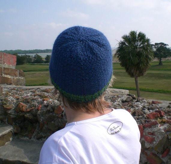 Men s Hat Knitting Pattern Dk : Knitting PATTERN, Knit surf beanie pattern, woven stitch ...
