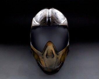 ColdBloodArt #Infinity Airsoft Paintball Mask - Alfa Three