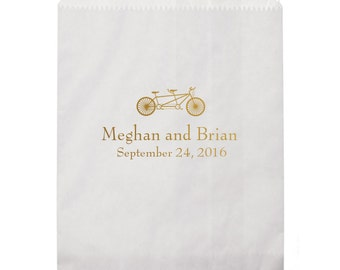 Better Together (Bicycle for Two) Personalized Favor Bags