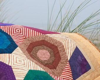 Umbrellas on the beach quilt