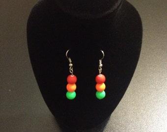 Earrings - Traffic Lights