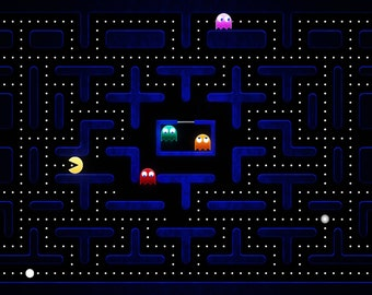 Pacman Wall Print