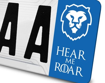 Sticker Lannister Game of Thrones for number plates