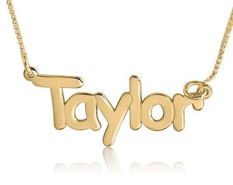 My Namenecklace Gold Name Pendant Designs The Gift Name Necklace 14k Gold Name Necklace Gold Name Necklace Custom Name Necklace Designs