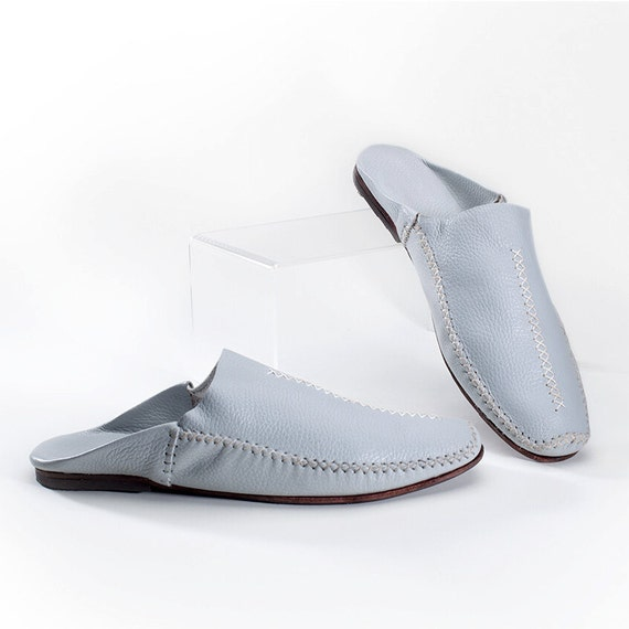 handmade s moroccan style shoe or house slipper by