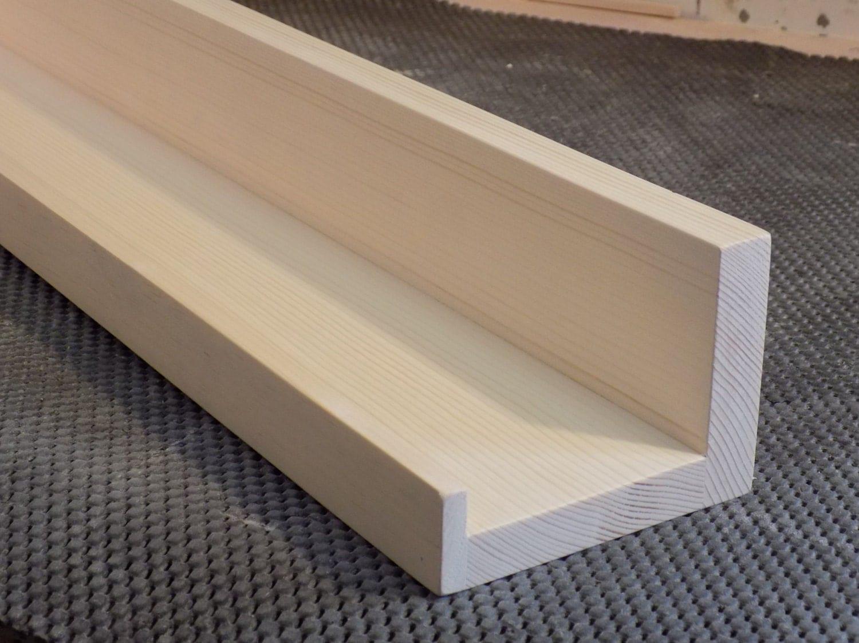 Unfinished Floating Ledge Shelf Picture Ledge Shelf Choose