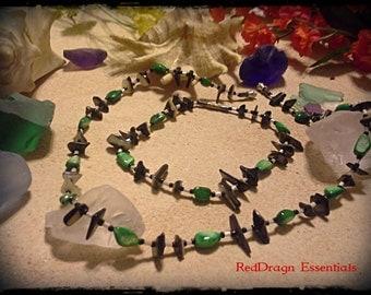 Matching Necklace & Anklet Set