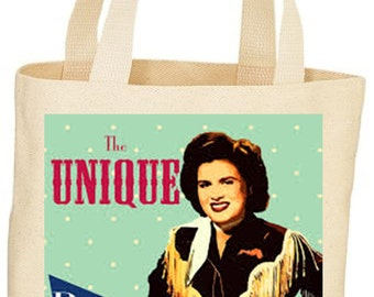 Custom Patsy Cline Tote bag market bag
