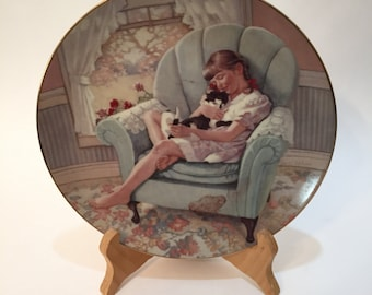 Childhood Memories By Janet Wilson Collectors Plate - Artisan Limited Edition