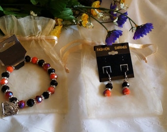earrings an bracelet set