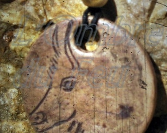 Necklace Bison, Niaux Cave