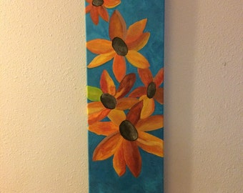 Bright Days original flower painting