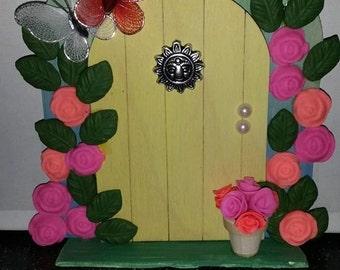 fairy door, fairy house, fairy accessories, faery door, butterfly door, hobbit door, elf door, gnome door, garden fairy, whimsical, whimsy,
