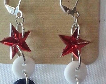 Various Independence day earrings