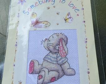 Somebunny to love cross stitch