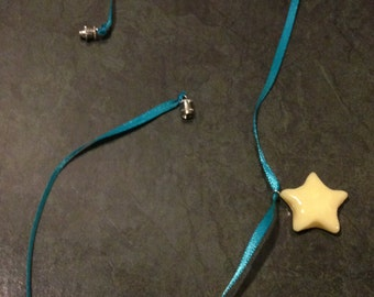 Glow-In-The-Dark Star Charm Necklace