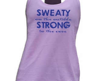 Sweaty on the Outside Women's Tank
