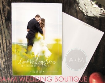 Downloadable Thank You Overlays, Instant Download, Thank You, Wedding Thank You, Photo Overlay, Wedding Photo Thank You, Aurora
