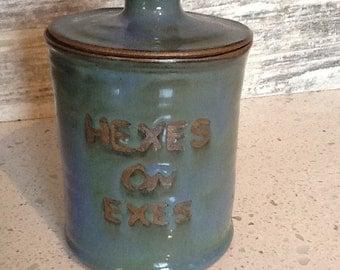 Hexes On Exes Jar