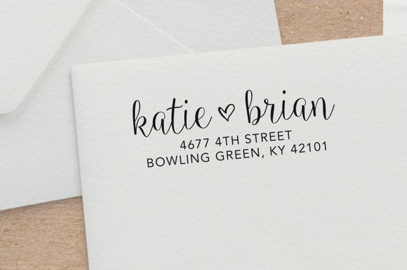 Personalized Stamps For Wedding Invitations: Custom Wedding Invitation Stamp Customized Rubber Stamp