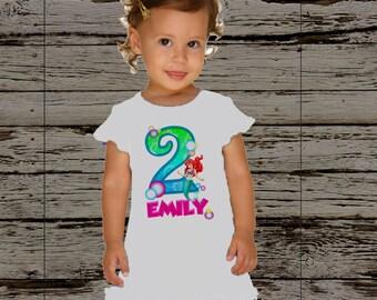 Little Mermaid Birthday Dress - Ariel Dress