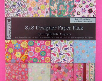 8x8 Scrapbook Papers