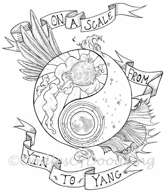 Scala di yin e yang scaricabili da colorare di pagesforallages for Disegni da colorare tumblr