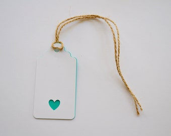 Heart Gift Tag, Pack of 10