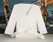 Dobok Card - jiujitsu, karate, taekwondo, judo, martial arts uniform