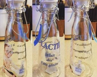 Lactie Vintage Looking Milk Bottle
